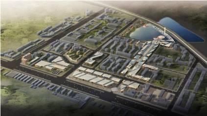 北京龙潭湖体育产业园